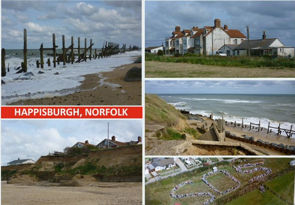 Happisburgh, Norfolk postcard